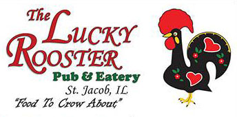 The Luck Rooster Pub & Eatery is a Sponsor of the St. Jacob UCC Strawberry Festival in St. Jacob IL